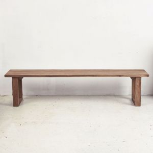 Elyas Rustic Bench Seat l Custom Made