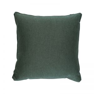 Emerald Twill Square Cushion