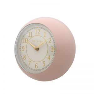 Emily Wall Clock | 21cm | Metal | Blush