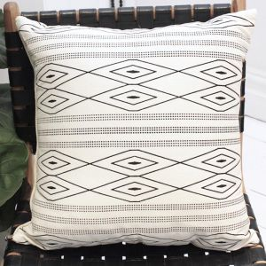 Empire Cushion | White | by Raw Decor
