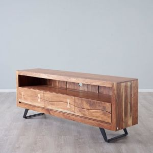 Empire Entertainment Unit | Solid Acacia Wood