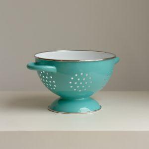 Enamel Colander | Turquoise
