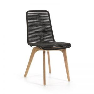 Endo Patio Dining Chair | Charcoal | CLU Living