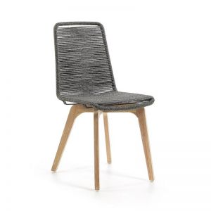 Endo Patio Dining Chair | Grey | CLU Living