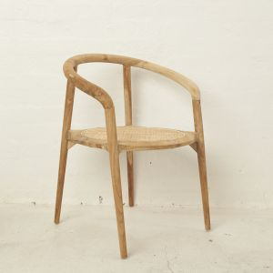 Espen Rattan Rounded Chair l Custom Made