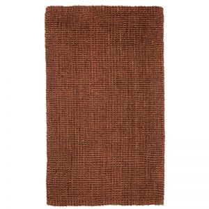 Estate Dark Brown Jute Rug | Fab Habitat | Various Sizes
