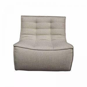 Ethnicraft N701 1 Seater Sofa | Dark Beige | Trit House