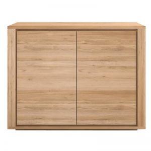 Ethnicraft Oak Shadow 2 Door Sideboard