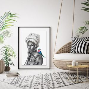 Eve Framed Limited Edition Giclee Print