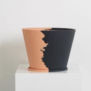 Even Steven Large Original Pot | Peach/Midnight