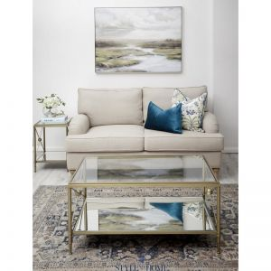 Everglade View | Canvas in Antique Silver Frame