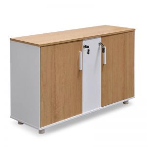 Evolve Storage Cabinet | Natural