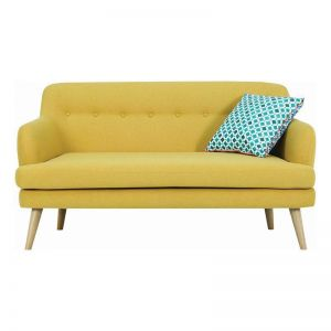 EXELERO 2 Seater Sofa | Yellow
