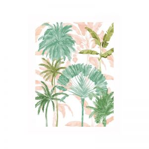 Exotic Palms II Poster