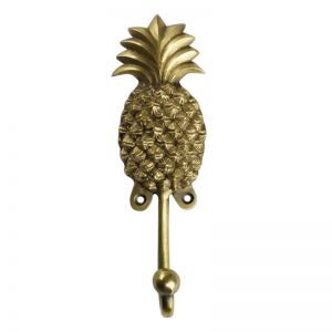Extra Large Brass Pineapple Wall Hook | Omg I Would Like