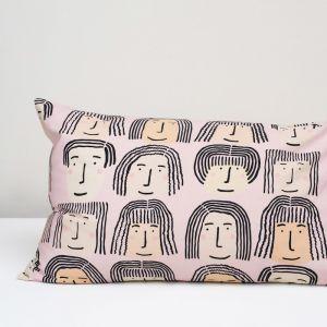 Fab Faces Pillowcase