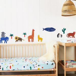 Fabric Wall Decal   World Animals