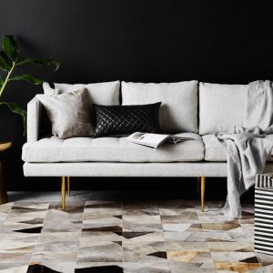 Faceta Rug by Art Hide | Grey