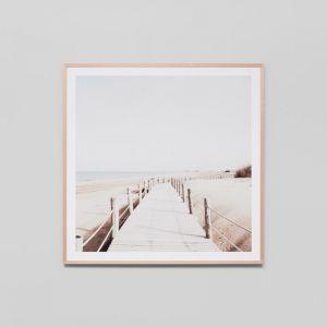 Faded Boardwalk | Framed Photographic Print