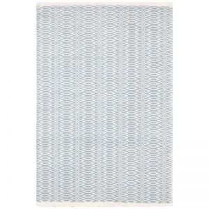 Fair Isle French Blue/Ivory | Cotton Woven Runner 76 x 243cm