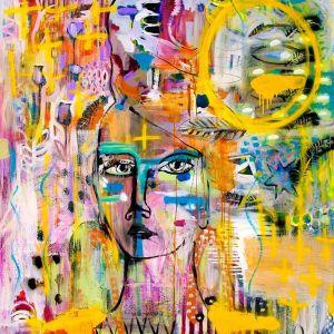 Faith | Warrior Woman | Canvas Print