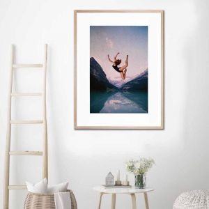 Falling | Framed Print by United Interiors