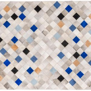 Falling Squares Rug by Art Hide | Blue