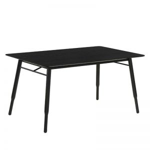 Fango Dining Table  150Cm | Black