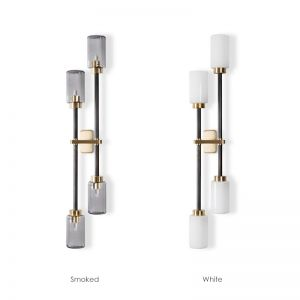 Farol Multi-Light Wall Light Decorative Sconce Replica   4 Heads   PRE-ORDER