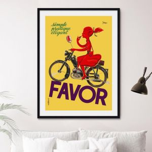 Favor Girl | Unframed Art Print
