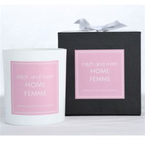 FEMME Essential Oil Candle | Limited Edition | Personally signed by Mitch and Mark