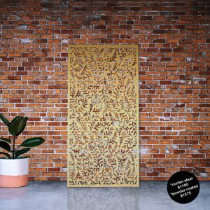 Fern Decorative Laser Cut Privacy Screens | by Lump Sculpture Studio