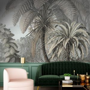 Fern Jungle Lithograph – Original | WALLPAPER