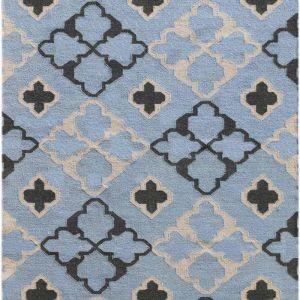 Feza Dusty Blue | Handmade Flat Weave Rug