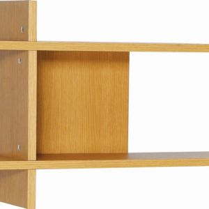 Fico Display Wall Shelf | Natural Oak | Modern Furniture