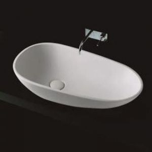 Fienza Bahama Above Counter Mk11 | Cast Stone Basin