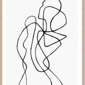 Figuratone by Peytil | Framed Artwork by Art and Framing Co
