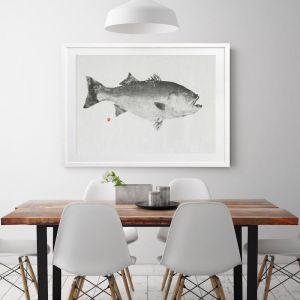 Fin & Flounder | Framed Art