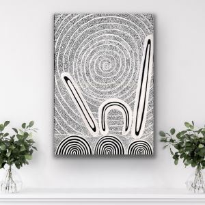 Finding my Place   Unframed Art Print by Lizzy Stageman