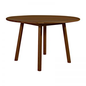 Finland Round Dining Table | Walnut