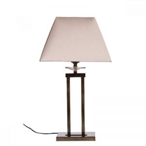 Finn Antique Brass Table Lamp