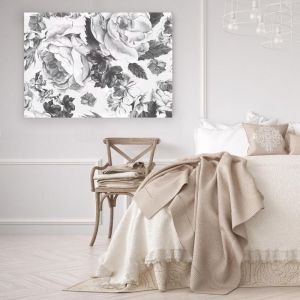 Fiore Grigio | Stretched Canvas/ Printed Panel