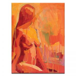 Fire Lady | Canvas or Print | Framed or Unframed