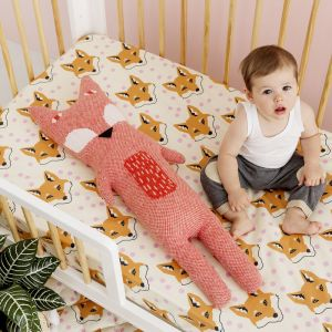 Fitted Cot Sheets   Fox
