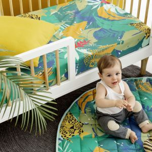 Fitted Cot Sheets | Jungle