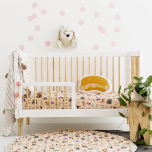 Fitted Cot Sheets | Puppy Love