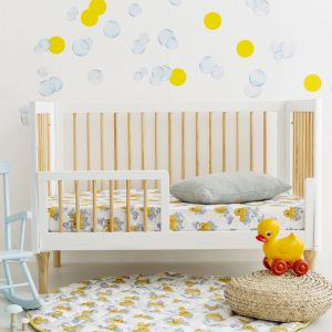 Fitted Cot Sheets | Rubber Ducky