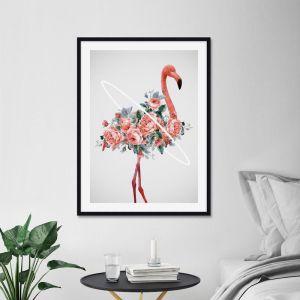 Flamingo by Daniel Taylor | Unframed Art Print