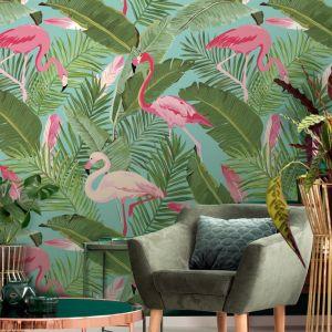 Flamingo Flamingo | Wallpaper