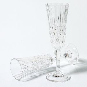 Flemington Acrylic Champagne Flute | Clear